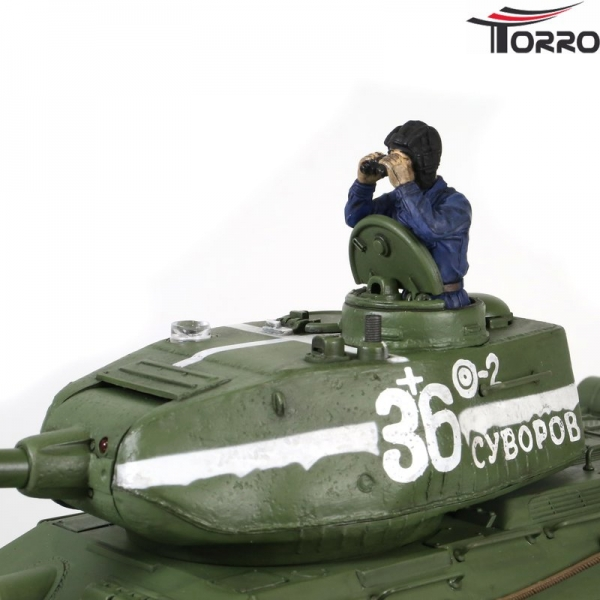 RC TANK T-34/85 Forces of Valor 1:24