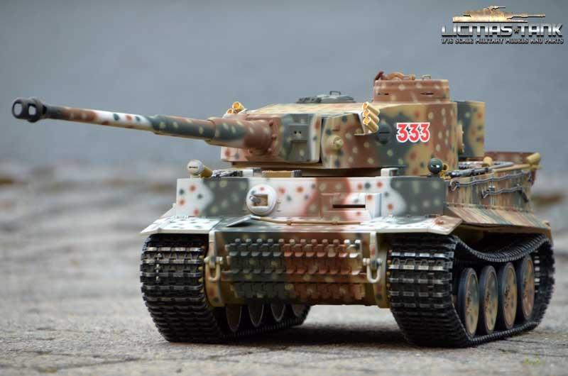RC Panzer 2.4 GHz Tiger 1 RUSSIA SPRING 1943 ***Taigen Metall-Edition 360° *** 6mm Schussfunktion licmas-tank 1:16