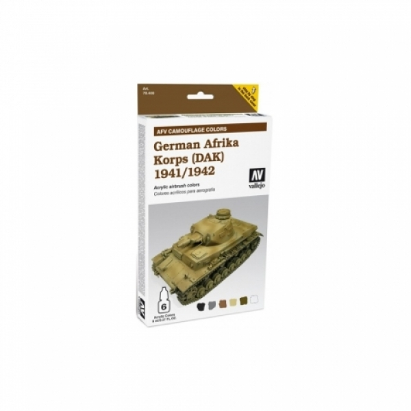 Model Air Set AFV German Afrika Korps 1941/1942 Set