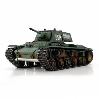 1/16 Torro RC KV-1 Metall Edition - Green - Airsoft shooting function