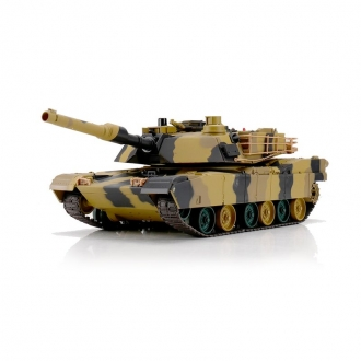 RC Tank M1A2 Abrams - 2,4 GHz - BB-Shooting and IR Battle System - Scale 1/24