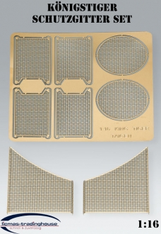 King tiger, Jagdtiger TORRO - metal accessories - protective grille set