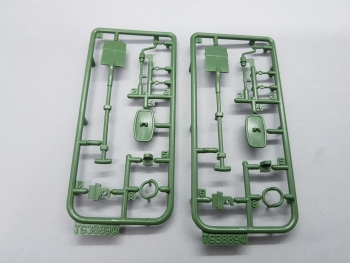 Leopard 2 A6 Plastic Accessories Set D 3889 Taigen 1:16