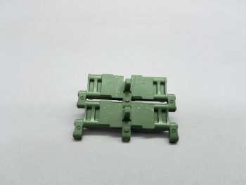 Spare part Taigen Leopard 2 A6 cultivation plastic track links 1:16