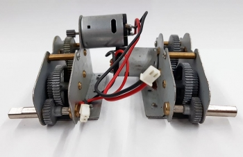 Special item Heng Long gearbox with short axis