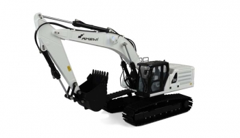 RC full metal hydraulic excavator G101H 1:16 RTR white