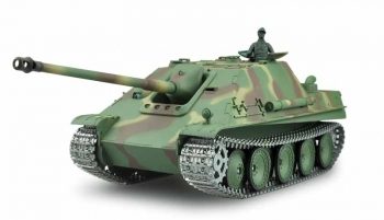 RC battle tank Jagdpanther Rauch & Sound, 1:16, metal gears & tracks, 2.4GHz (Amewi)