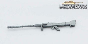 Heng Long 1:16 MG 34 plastic silver