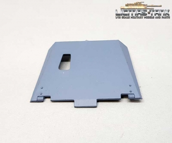 Heng Long / Taigen MG Shield for 3868 Stug 3 painted grey plastic 1:16