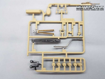 Heng Long / Taigen Accessories Part C painted for 3868 RC Tank