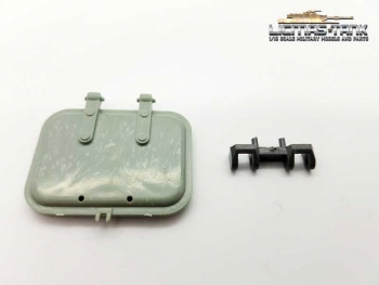 Heng Long Sparpart Tiger 1 hatch plastic 3818 with hinge