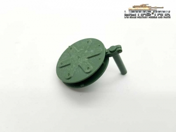 Heng Long Panzer 3889 Leopard 2 A6 hatch for commander plastic sparepart