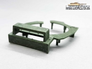 Heng Long Panzer 3889 Leopard 2 A6 ring for commander hatch plastic sparepart