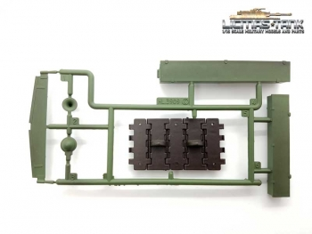 Heng Long Russia T34/85 Plasticset C Parts 1-6 painted