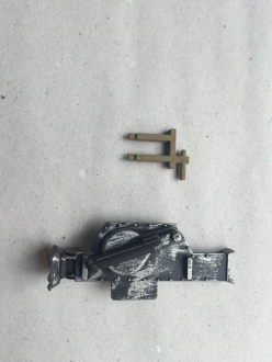 Plastic jack for Panther G and Jagdpanther with plastic holder