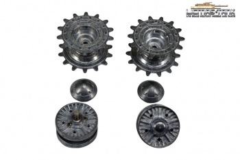 IS-2 (JS-2) Metal sprocket and idler wheel
