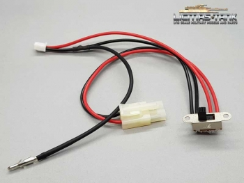cable for power with switch and recoil system ir version connector