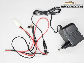 Charging System cable set with 7.2V 400mAh loader for all tanks