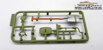 RC Tank 3889 Taigen 1:16 Leopard 2 A6 Plastic Accessories Set D 3889 painted