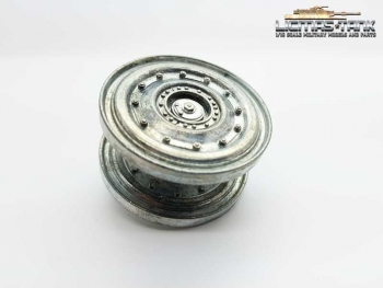 Spare Part Taigen Tiger 1 late Version metal Wheel outside 1:16