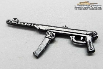 PPS43 submachine gun metal Russia World War II scale 1:16