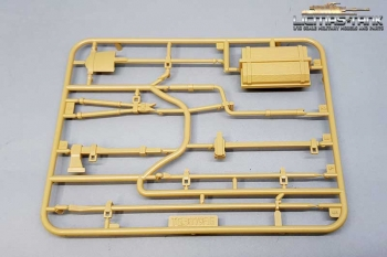 Taigen Panther Ausf. G, Ausf. F plastic accessory set 1 unpainted 1/16