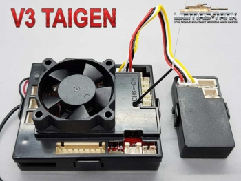 Taigen V3 Board with Panzer 3 / Panzer 4 sound box and anti-jerk function