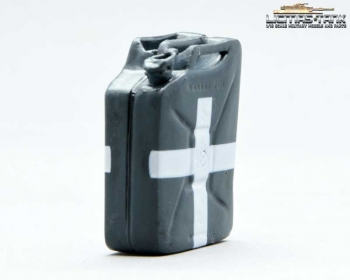 Water Jerrycan Wehrmacht plastic with font grey licmas tank 1:16