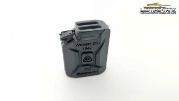 Water can gray Wehrmacht Resin with fonts Licmas-tank 1:16