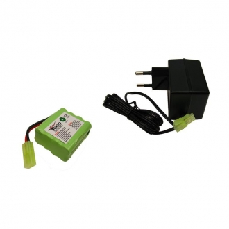 Battery Pack and Battery Charger for TORRO-WSN Tiger 1 and T34/85 RC tanks