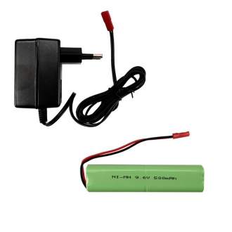 Battery and Charger for Torro Maxx Pro and M16