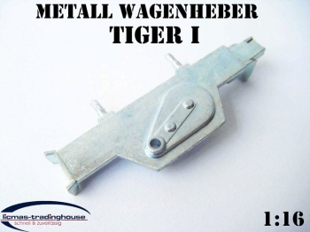 Metal lifting jack for Tiger 1 tank Heng Long 1/16