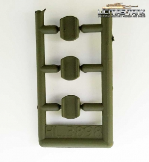 Spare part Heng Long 3898 Sherman Cover for casters
