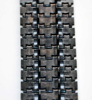 10 x spare links with connecting pins for Panther / Jagdpanther Taigen metal chain 1:16