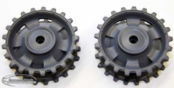 Driving Wheel (1 pair) made of plastic