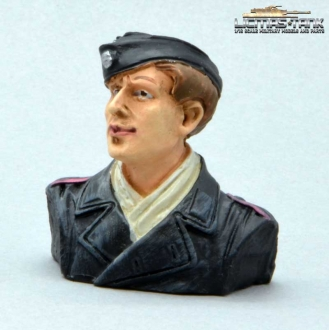 Figure 1/16 German Tank Crew Driver Normandy 1944 Half Body Figure