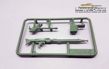 Leopard Taigen 2A6 MG-3 for plastic turrets 1:16