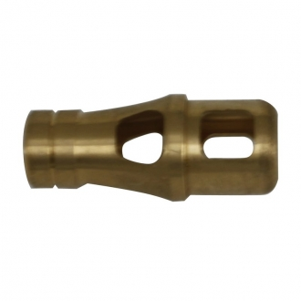 Muzzle brake made of brass for Tiger 1 or King Tiger