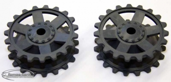Panzer 4 Spare Part Driving Wheel plastic Heng Long 1/16