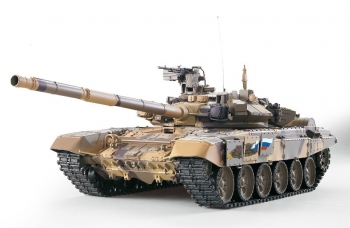 "RC Tank ""Russia T90"" with smoke & sound - 2,4Ghz TK6.0S Heng Long Torro Edition"