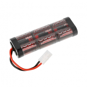 ROBITRONIC RC Tank NiMH Battery 7,2V / 4000 mAh with Tamiya Plug
