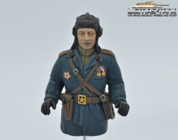 1/16 Figure Russian tank commander handpainted
