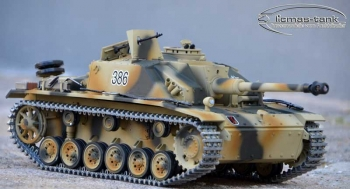 Austellungsmodell Taigen STUG 3 Ausf. G  HQ Metall Edition 2.4 GHZ Airbrushlackierung