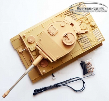 Tiger 1 upper hull with a tower IR recoil System 1:16