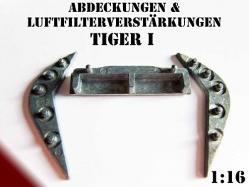 Metal air filter reinforcement Tiger 1 Heng Long