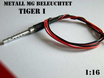 Metall MG beleuchtet Tiger I Taigen Heng Long