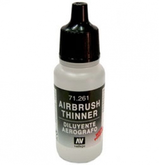 Airbrush Verdünner 71261 Thinner 17ml  Acrylicos Vallejo